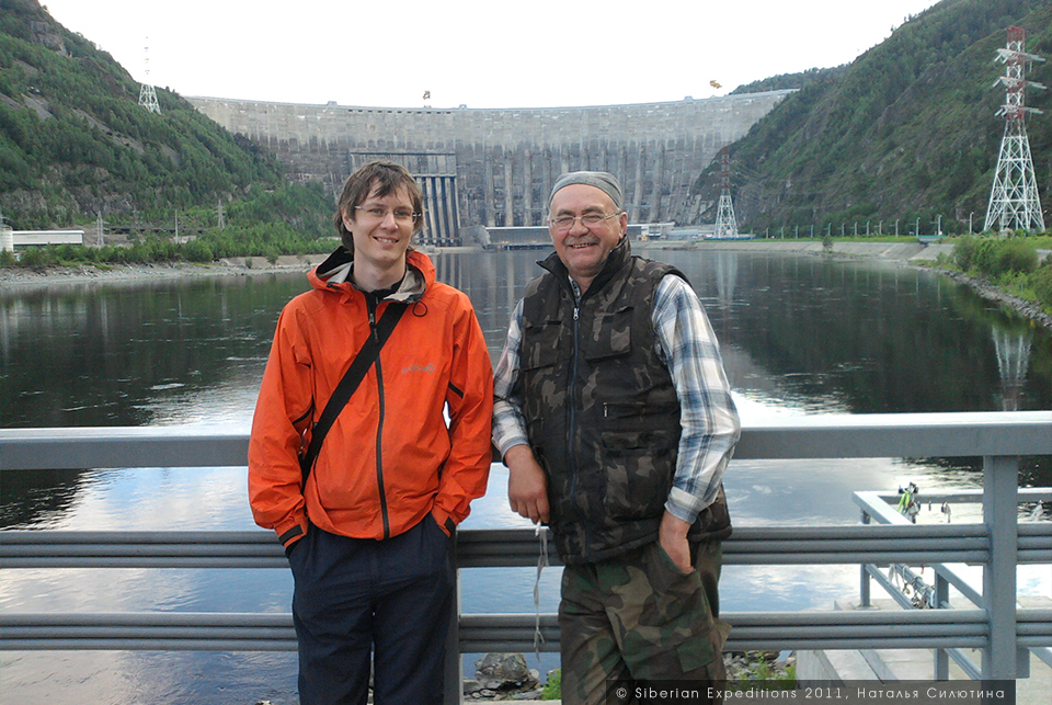 Поиск тайной базы атамана Соловьева, Siberian Expeditions. На Саяно-Шушенской ГЭС