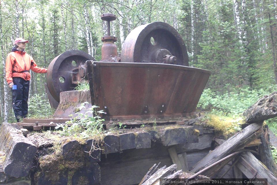 Тайная база атамана Соловьева, Siberian Expeditions. Заброшенный золотой рудник, Хакасия