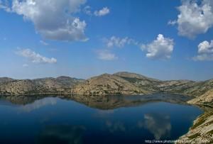 Калбинские горы и гладь Сибинских озёр