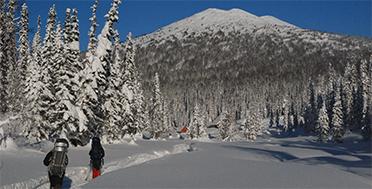 Поднебесные Зубья, Сибирская тайга, Приют Снежный Барс, пик Дураков, экспедиция по сибирской тайге, тур на лыжах по сибири