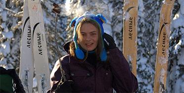 Поднебесные Зубья, сибирская тайга, экспедиция по сибирской тайге на лыжах