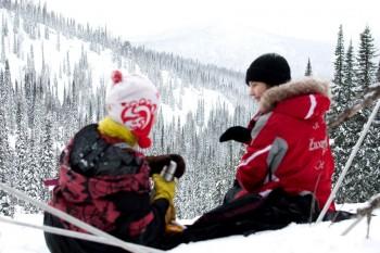 Отдых В Сибирской тайге, Поднебесные Зубья