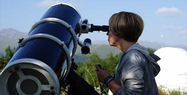 Обсерватория на Кавказе :: Наблюдение в солнечный телескоп