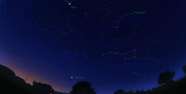 Обсерватория на Кавказе :: поиск созвездий