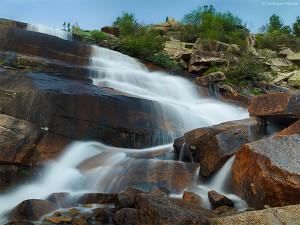 Ергаки водопад
