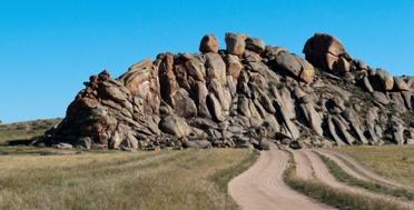Многоплановая экспедиция по Тыве. Скальные останцы Убсунурской котловины