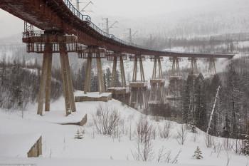 БАМ, Чертов мост