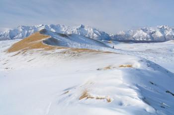 БАМ, Чарская пустыня под снегом