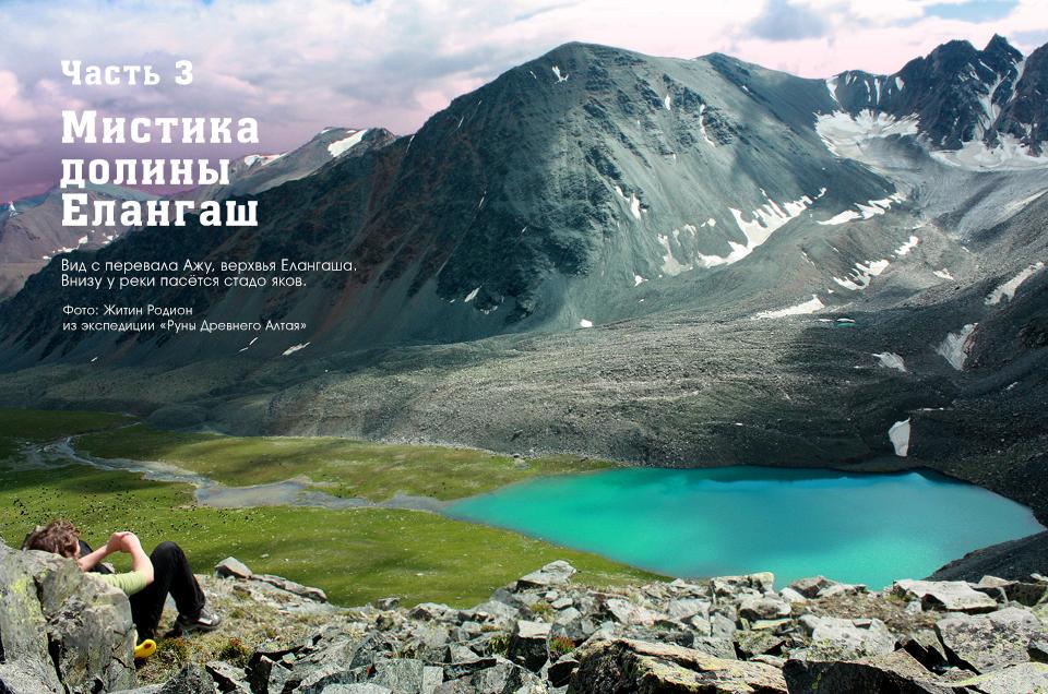 Елангаш, петроглифы, перевал Ажу, Горный Алтай