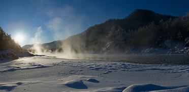 Новый год на Алтае 2016, Голубые озёра Катуни