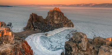 Байкальский лёд, день 5, Шаманка, Ольхон