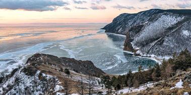 Байкальский лёд, день 6, По Ольхону