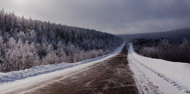 Байкальский лёд, день 7, дорога в Иркутск