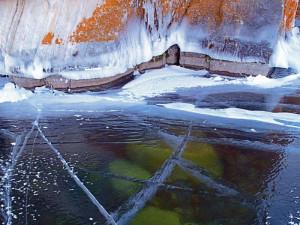 Байкальский лёд, Байкал зима