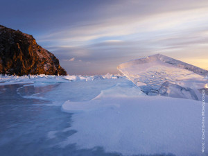 Байкал, зима, Малое море