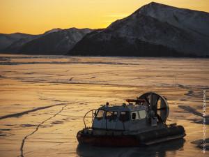 Байкал, зима, хивус