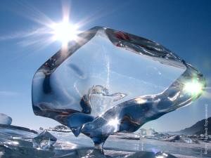 Байкал, зима, Байкальский лёд