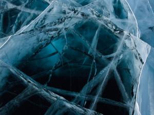 Байкальский лёд, зимний Байкал