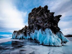 Зимний Байкал, остров Ольхон