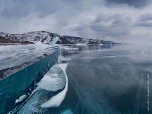 Байкальский лёд, зима
