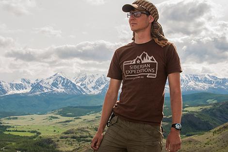 Оригинальная футболка Siberian Expeditions