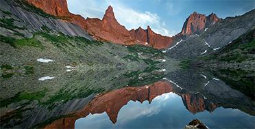 Ергаки, озеро Горных Духов