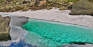 Ергаки, Цветные озёра