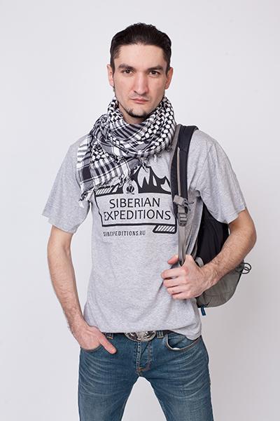 Оригинальная мужская футболка Siberian Expeditions-wear
