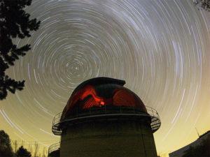 Обсерватория на Кавказе :: круговорот звезд