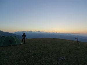 Обсерватория на Кавказе :: на закате в горах