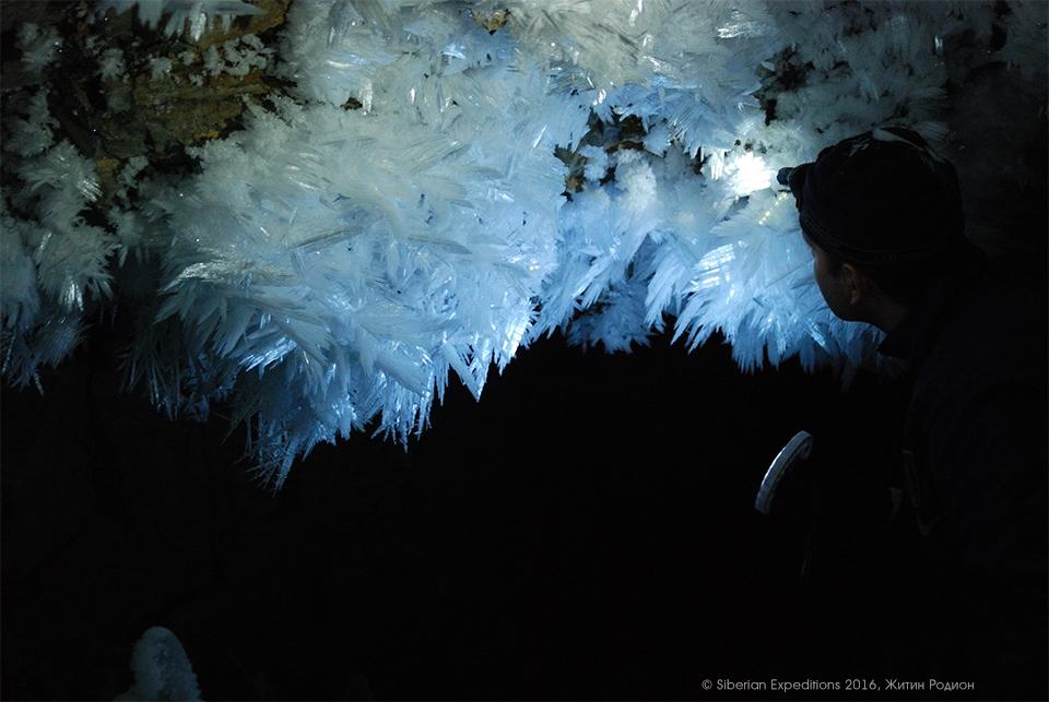 поднебесные Зубья, пещера Амзасская