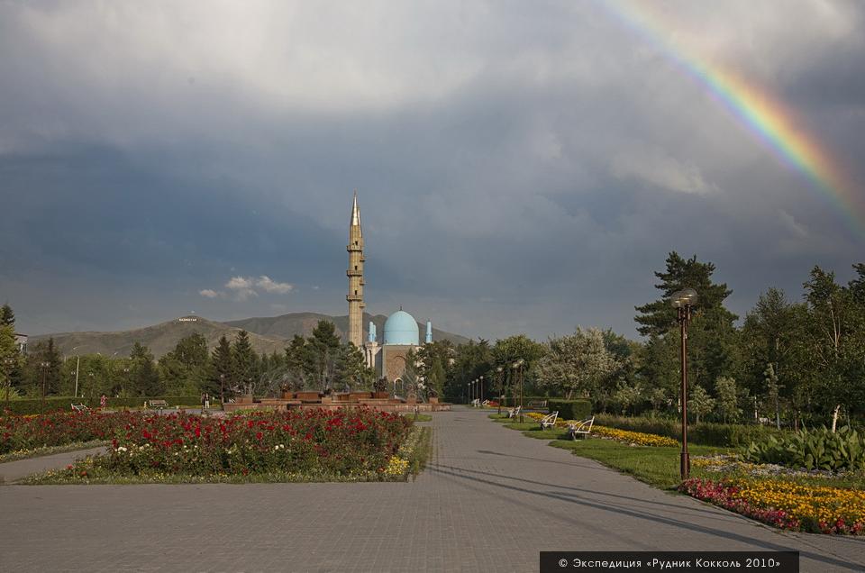 Экспедиция на рудник кокколь, Восточный Казахстан. Усть-Каменогорск, мечеть