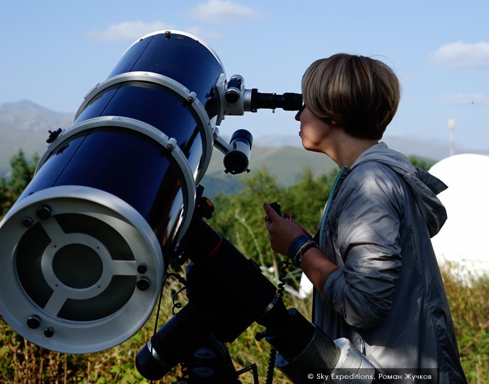 Обсерватория в Архызе, основной рабочий телескоп