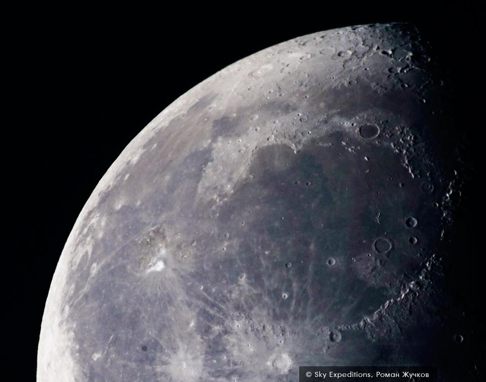 Обсерватория в Архызе, наблюдения за Луной