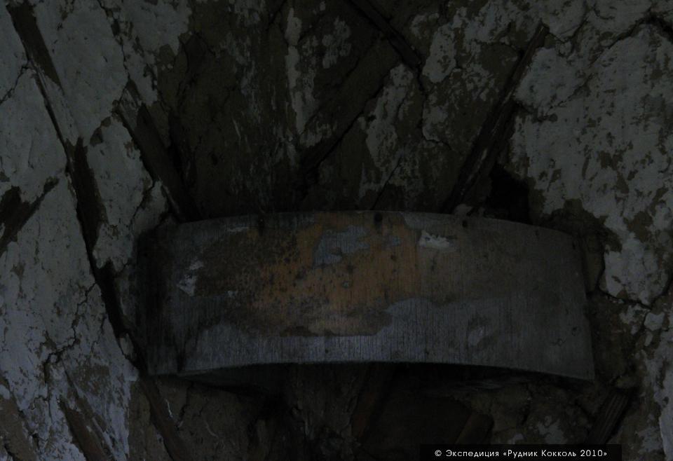 Рудник Кокколь, красный угол в здании администрации