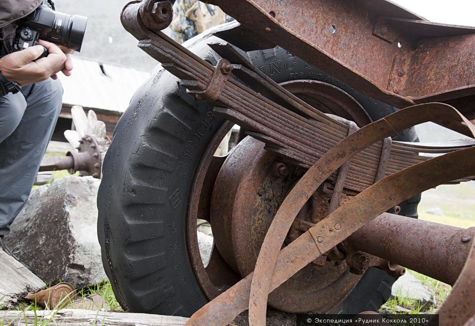 Рудник Кокколь, ГАЗ АА, грузовик, Алтай
