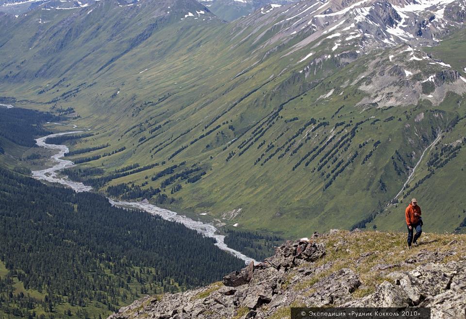 Восточный Казахстан, долина Белой Берели