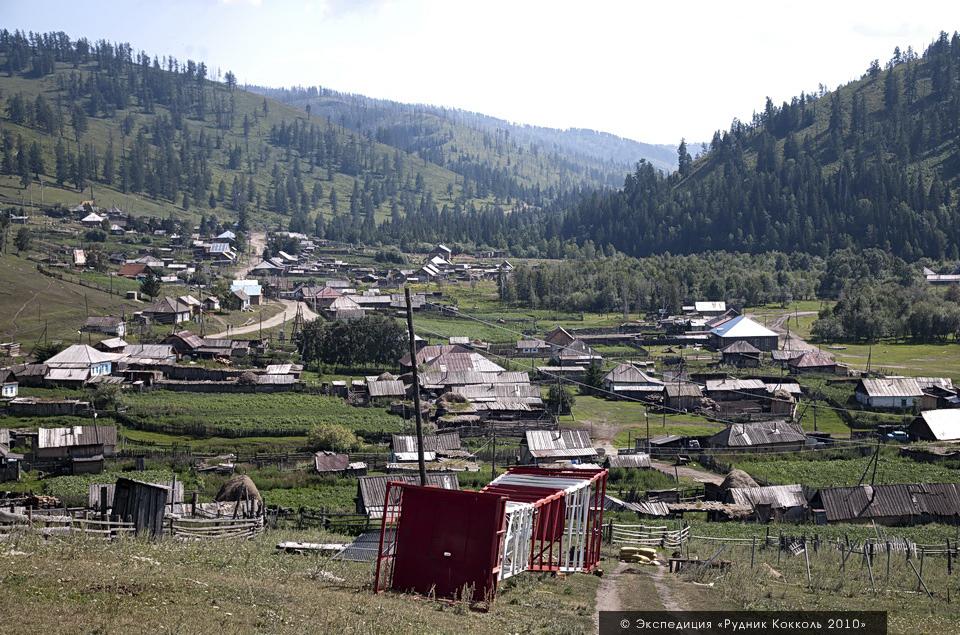 Восточный Казахстан, Старая Австрийская дорога, село Урунхайка