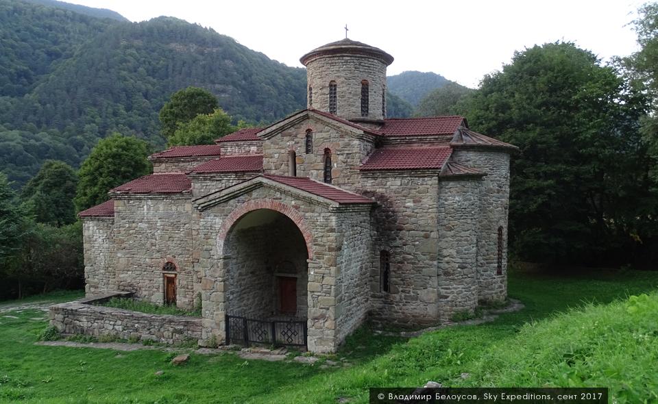 Аланский храм, Карчаево-Черкесия