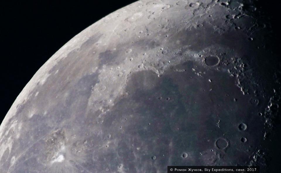 Луна в телескоп, Архыз