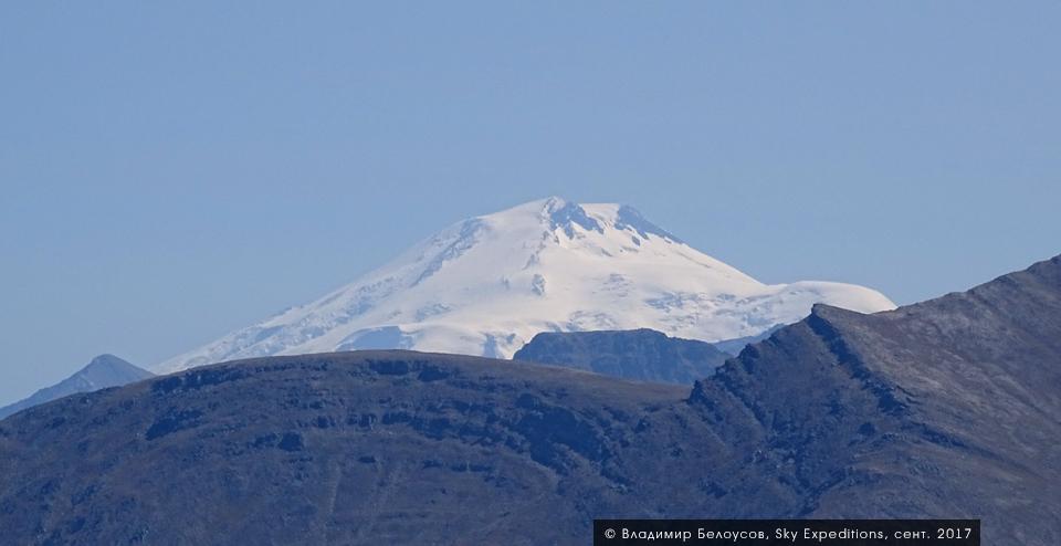 Вид на Эльбрус, Пик Пастухова