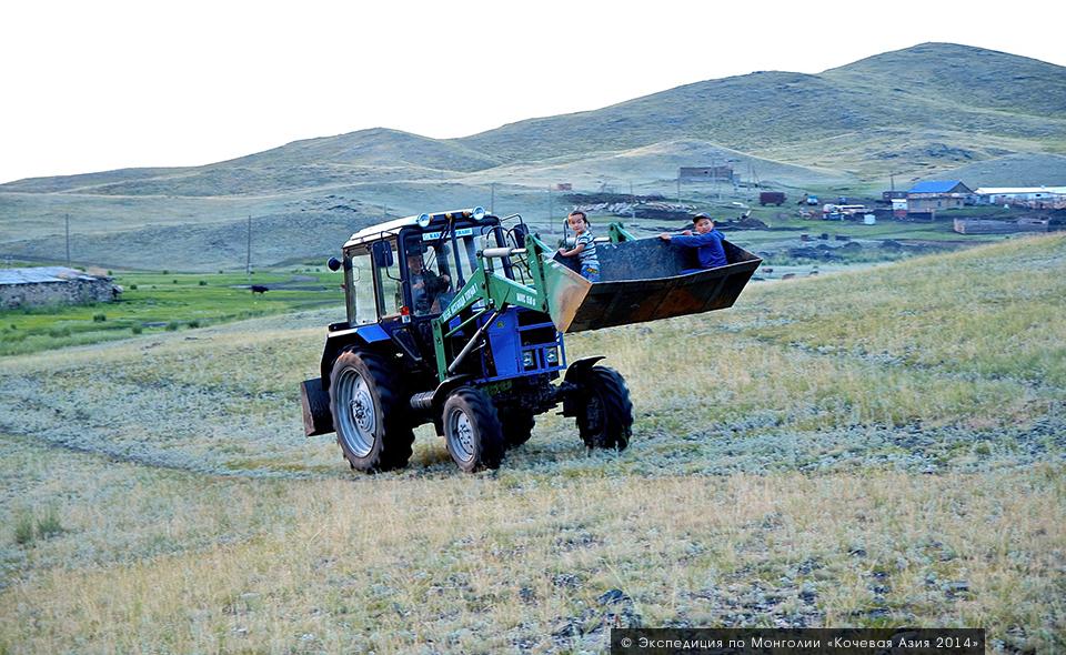 Восточный Казахстан, ферма казаха