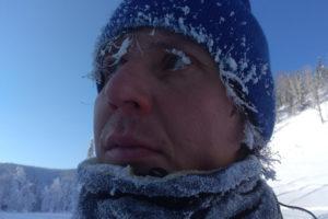 Белые ресницы зима сибирь