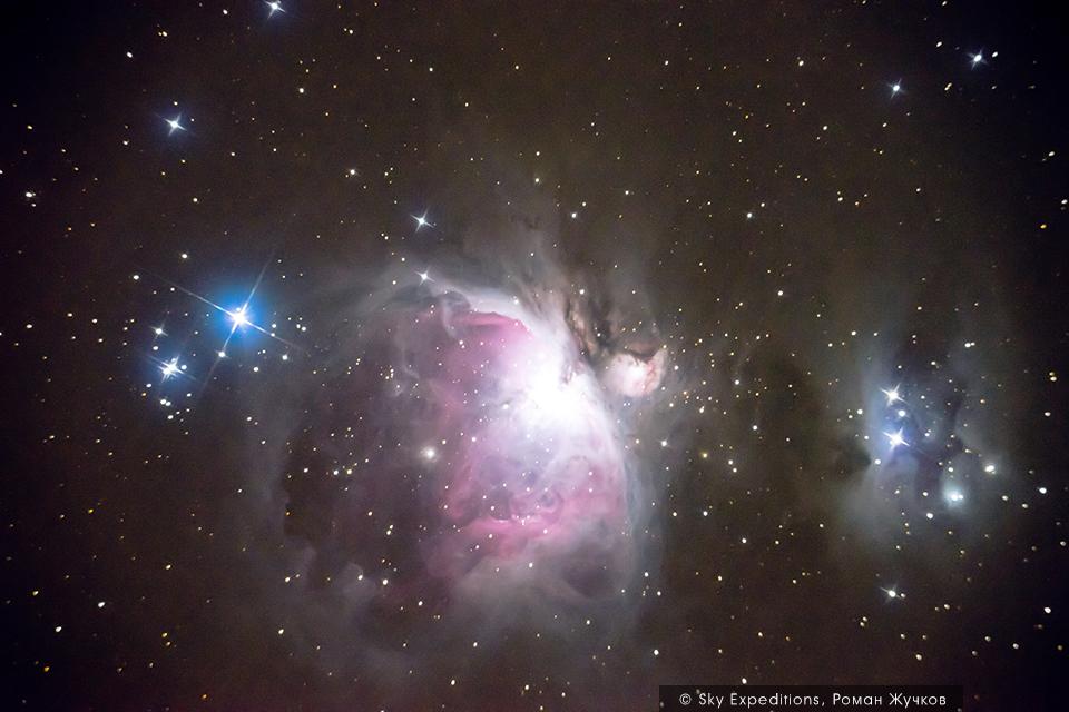 M42 Большая Туманность Ориона астрофотография
