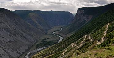 Алтай в июне, Катуярык
