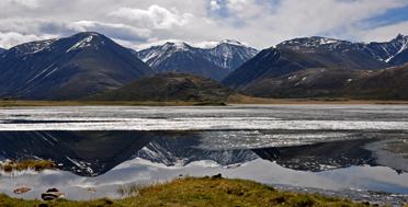 Алтай в июне, озеро Киндыктыкель