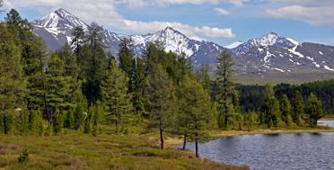 Алтай в июне, озеро Киделю
