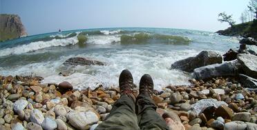 Байкал, бухта Узуры, остров Ольхон