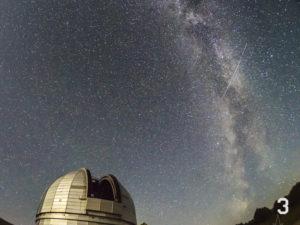 Млечный путь, обсерватория в Архызе