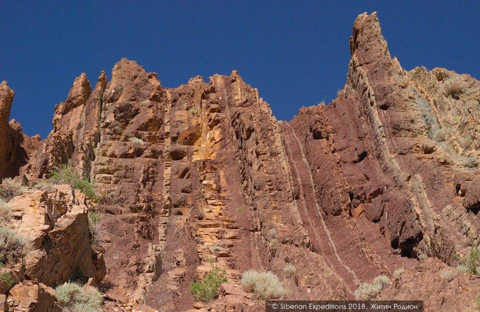 Марсианские пейзажи Горного Алтая, агатовый каньон